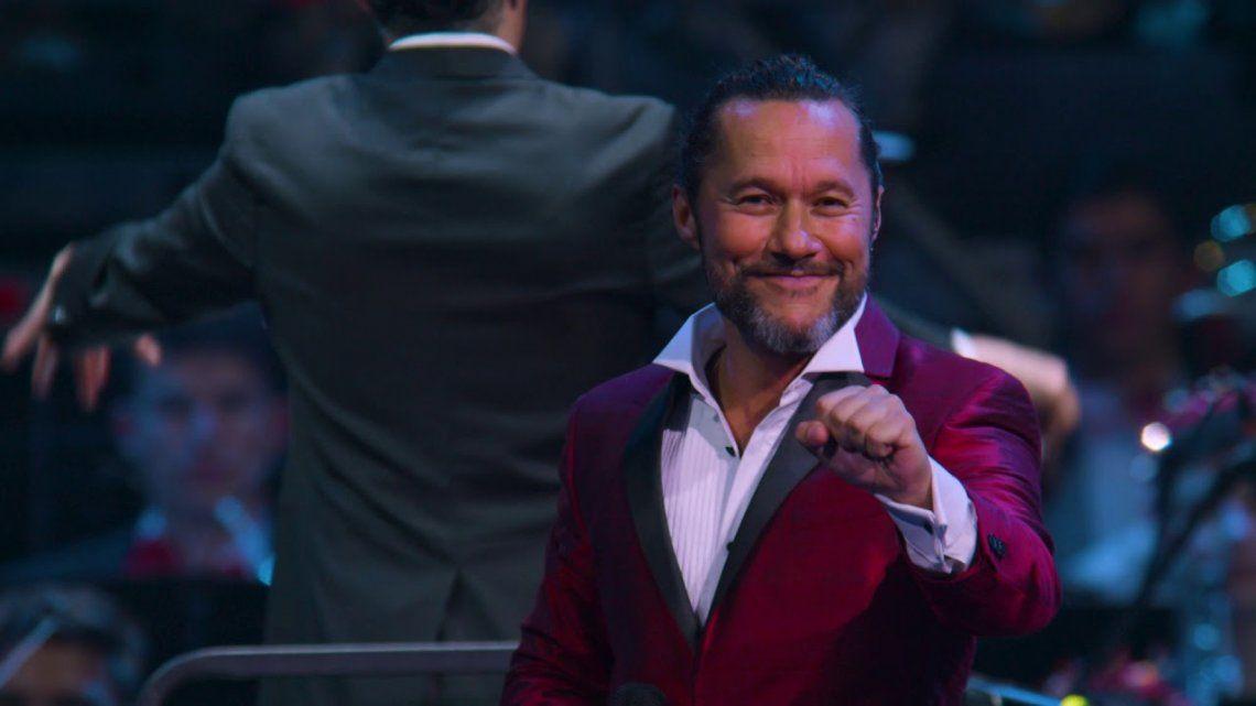 El show sinfónico que Diego Torres grabó en Colombia llega a la pantalla