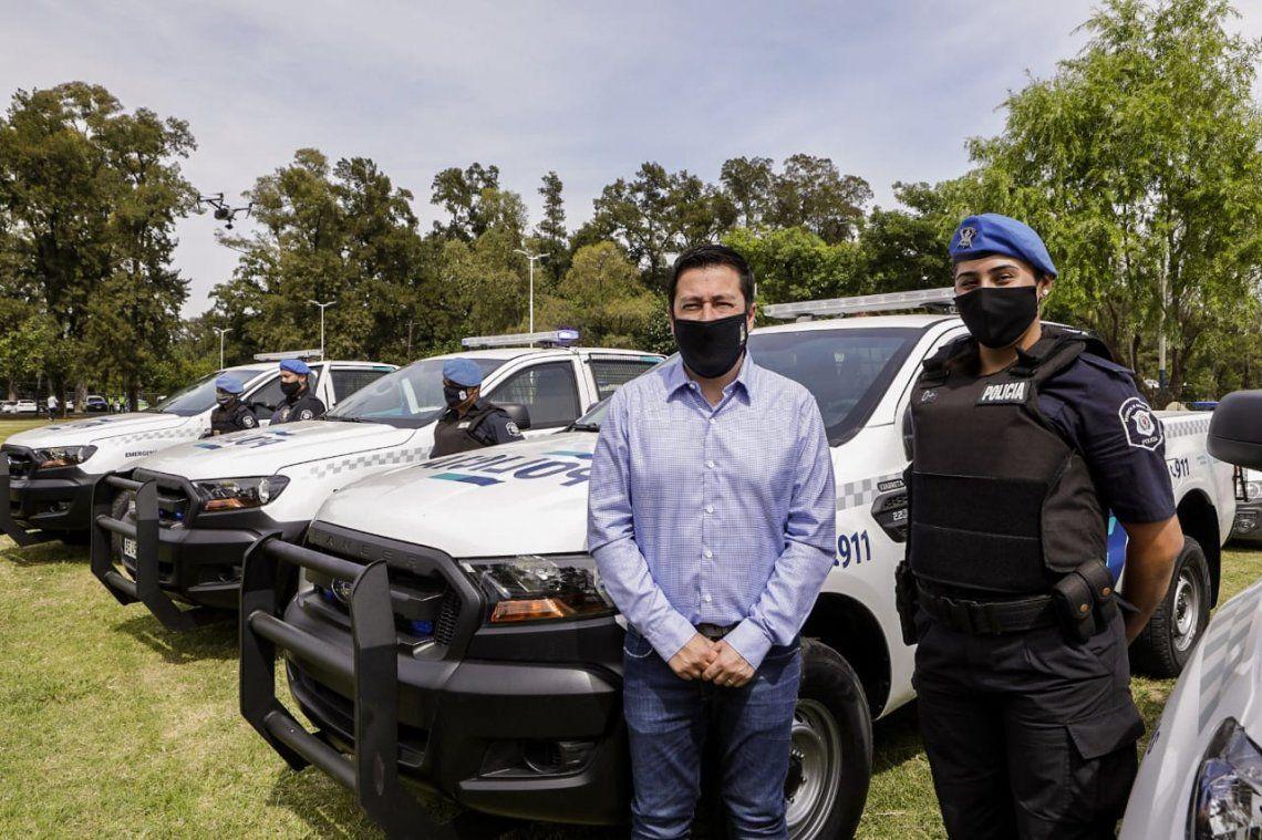 Presentaron patrulleros en Mlavinas Argentinas