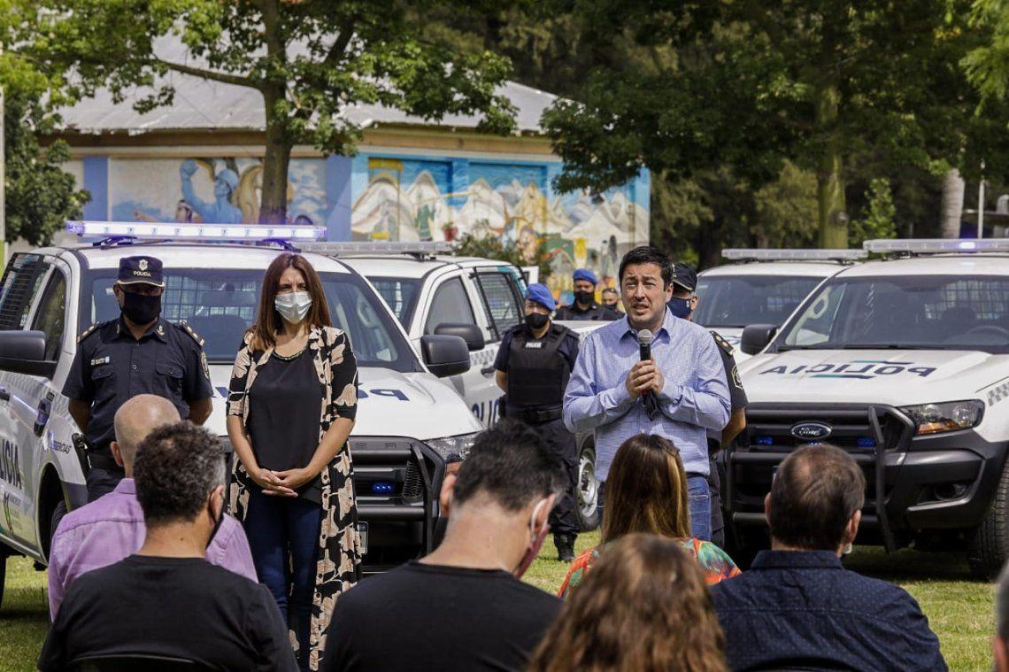 Malvinas Argentinas: Nardini presentó 20 nuevospatrulleros