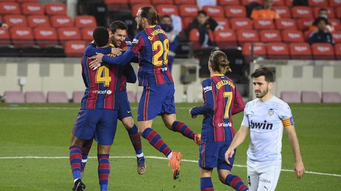 Lionel Messi igualó el récord de Pelé