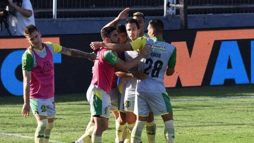 Aldosivi derrotó 1-0 a Patronato con gol de Federico Andrada.
