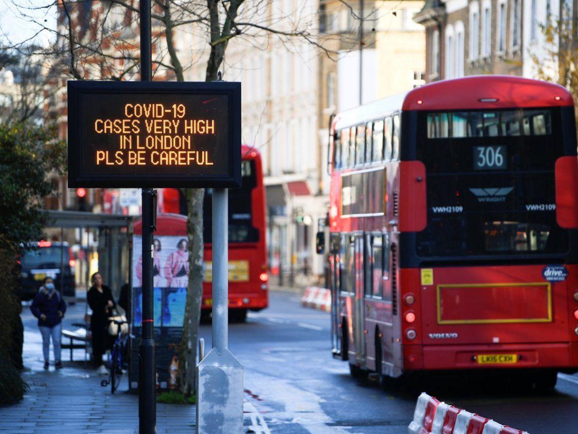 Coronavirus: Londres y el sureste de Inglaterra amanecieron este domingo en el Nivel 4