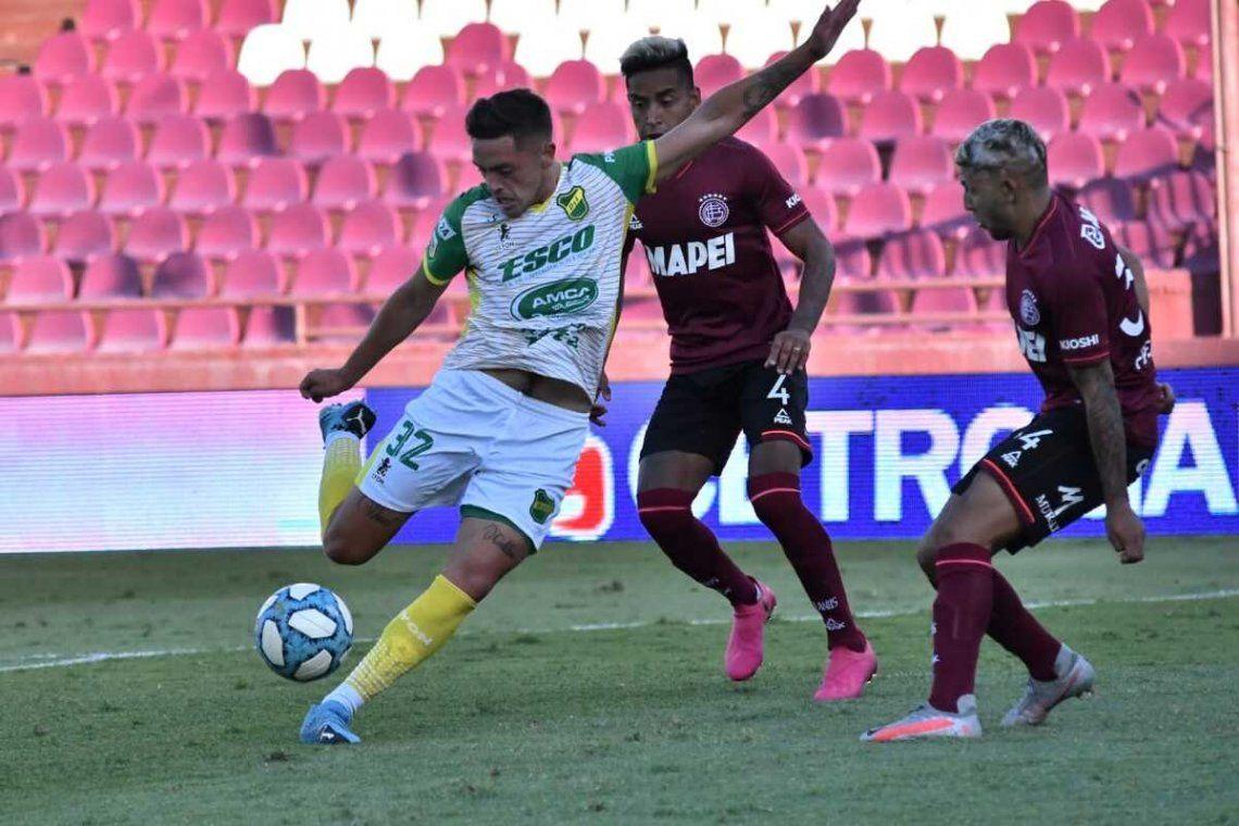 Lanús y Defensa y Justicia empataron 1-1 en La Fortaleza.