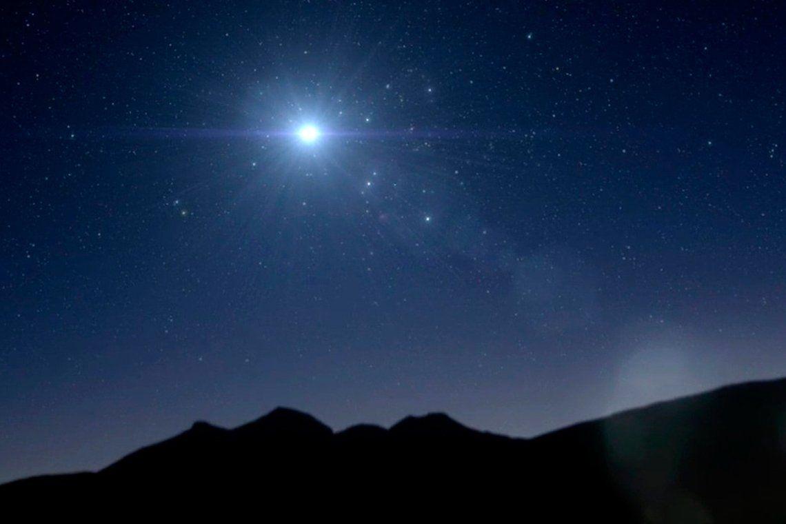 Júpiter y Saturno formarán una Estrella de Navidad