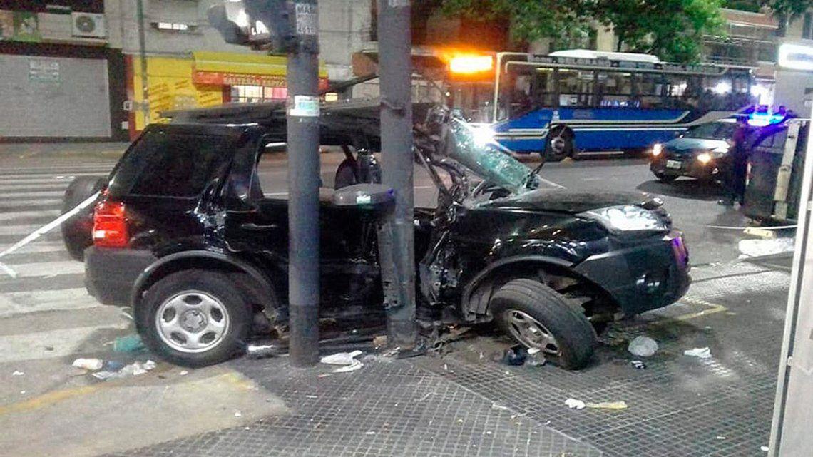 El trágico accidente se produjo en la esquina de la avenida Nazca y Bogotá