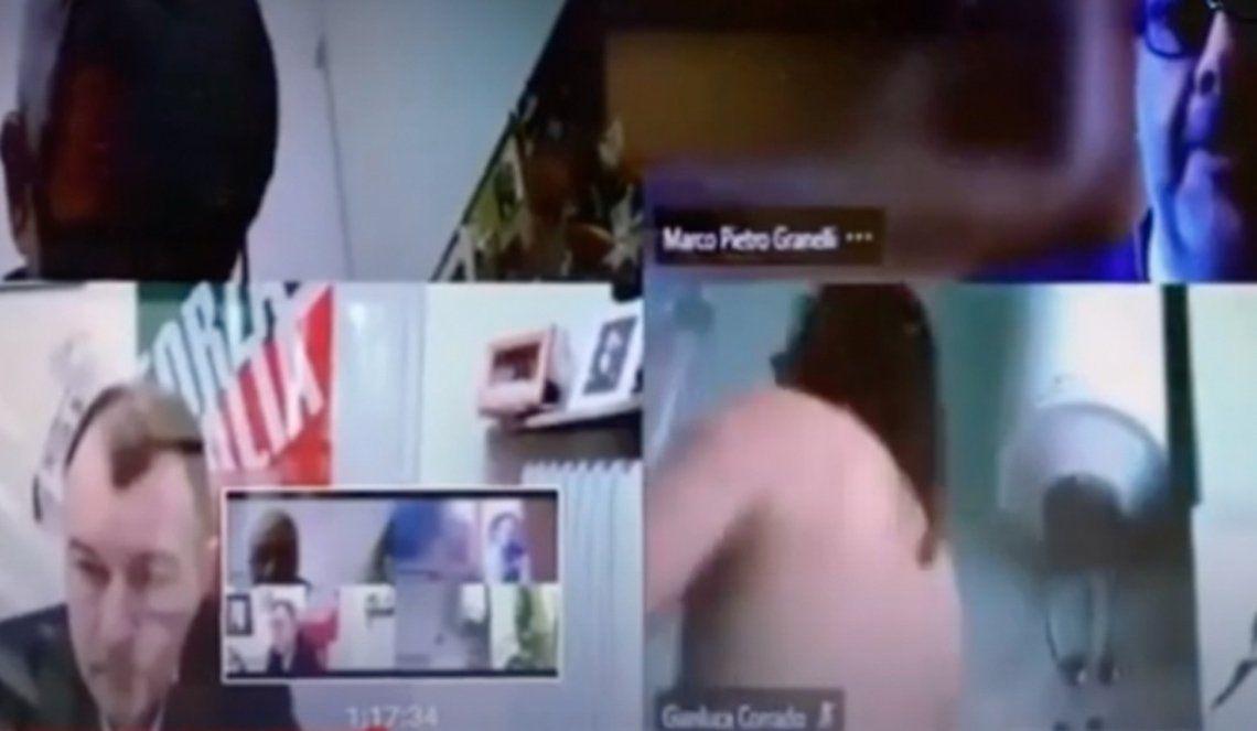 Italia: escandaloso video de un concejal.