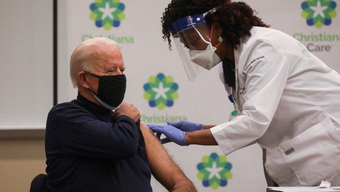 Biden recibió la vacuna.