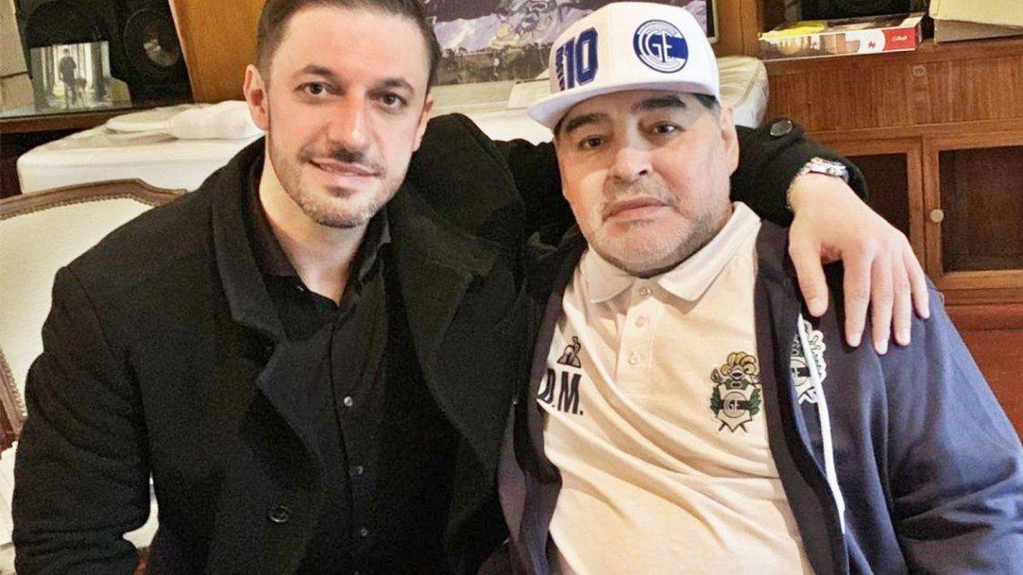 Investigan el celular del último chofer de Maradona puesto por el abogado Matías Morla