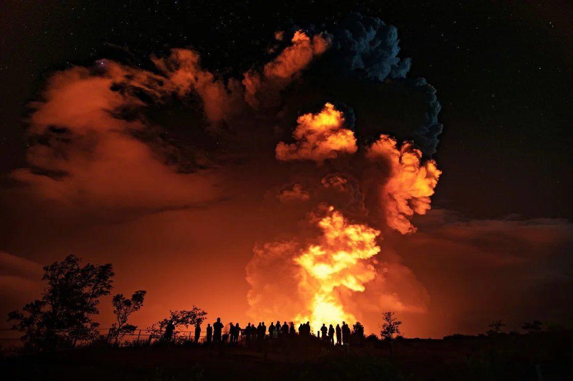 Las impactantes fotos de la erupción del Volcán Kilauea en Hawái