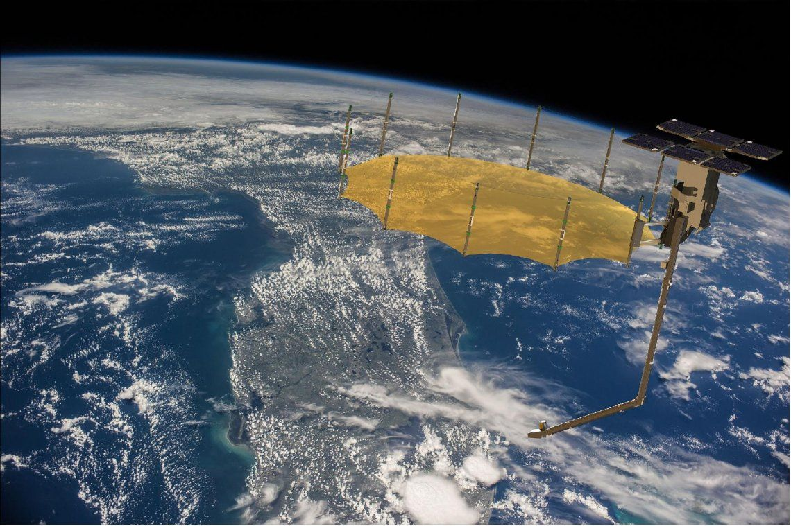 El satélite espía que puede penetrar paredes de las casas
