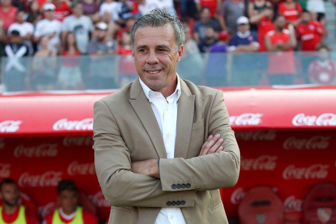 Lucas Pusineri renovó su vínculo con Independiente hasta 2021.