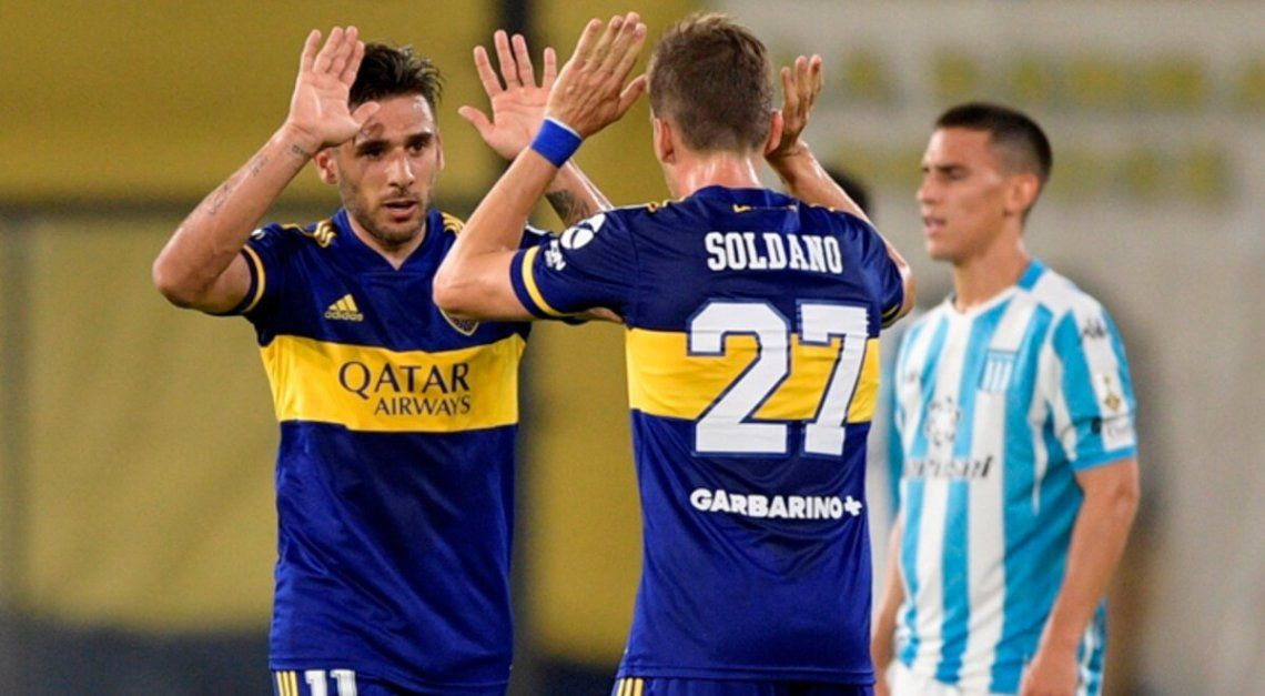 El partido entre Boca y Racing arrasó con el rating