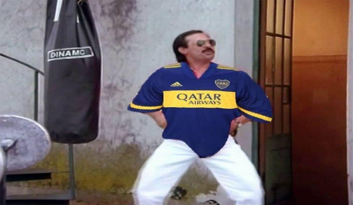 Racing-Boca: Memes con Francella como principal apuntado.