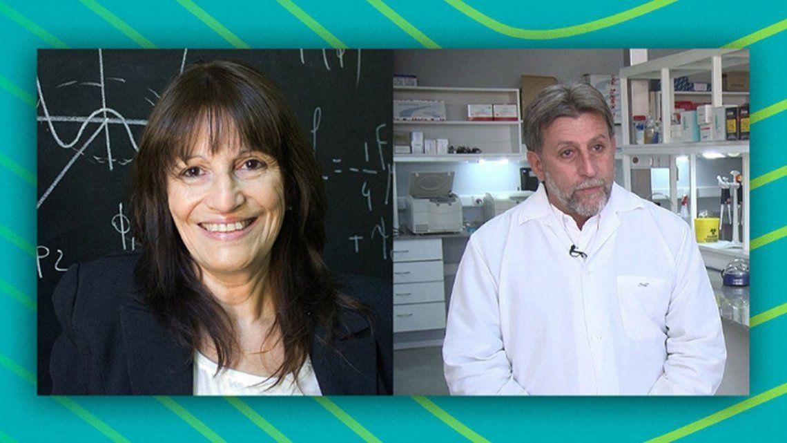 Ciencia: Teresa Doba y Hugo Luján reconocidos a nivel internacional