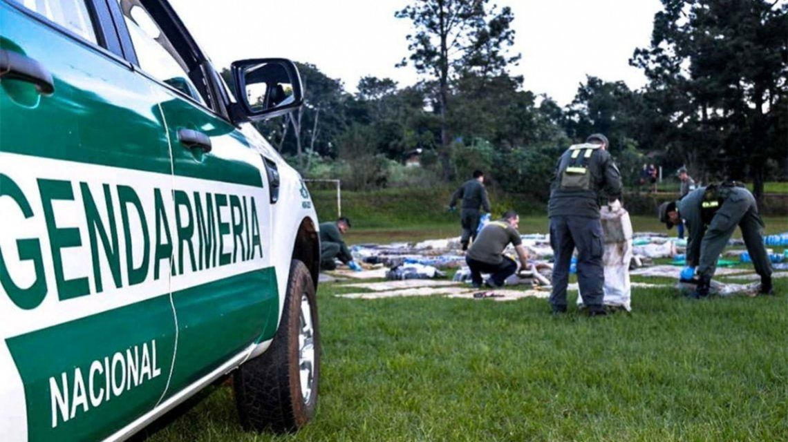 Gendarmería: Incautan 170 kilos de marihuana en San Luis