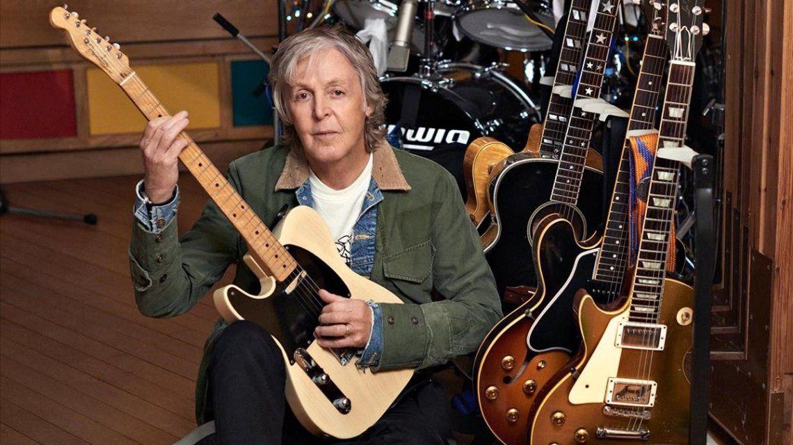 Paul McCartney número 1 en el Reino Unido