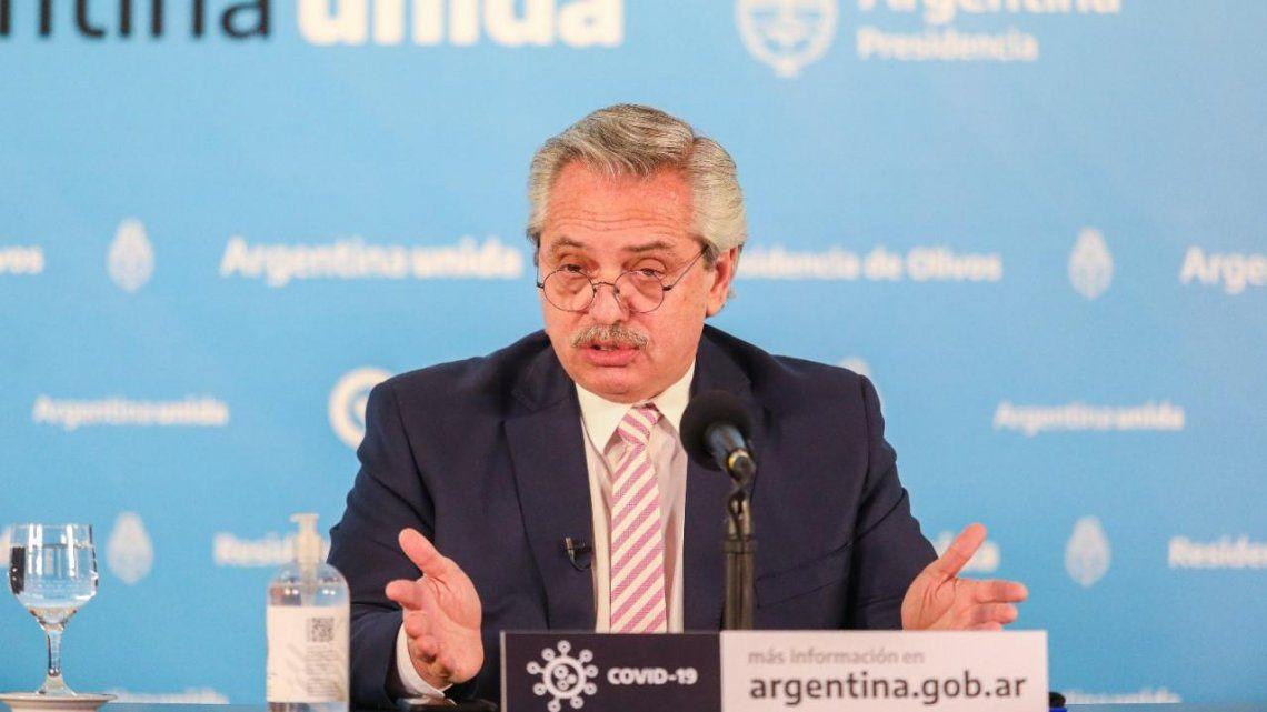 Alberto Fernández destacó el proceso de vacunación que se inicia el próximo martes