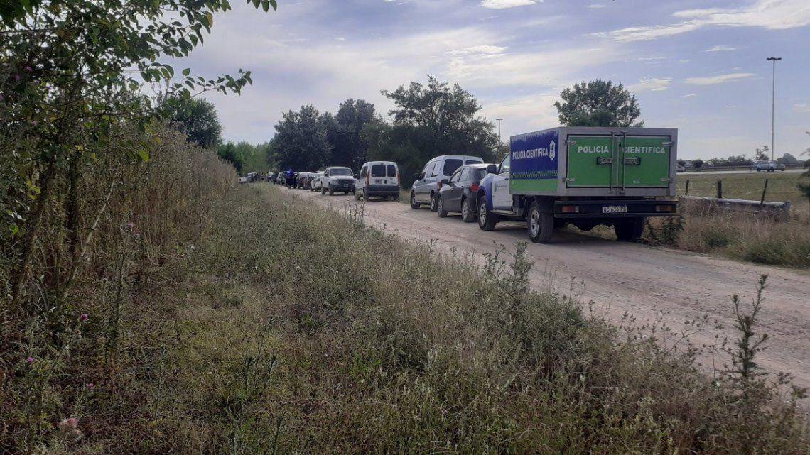 Ezeiza: Se dispuso el rastrillaje en la zona en búsqueda de rastros