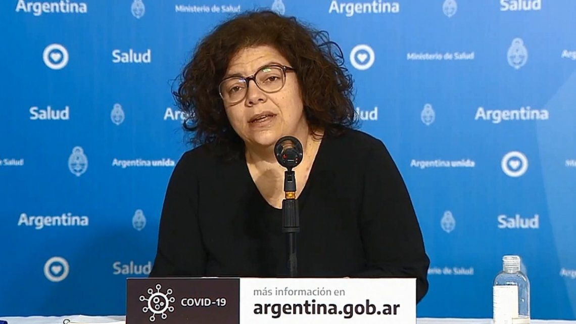 Carla Vizzotti confía en la eficacia de la vacuna Sputnik V