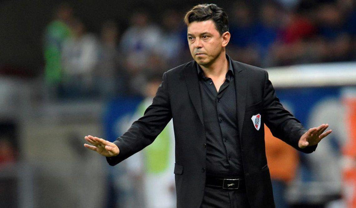 Marcelo Gallardo aseguró que es muy difícil que los lesionados puedan jugar.