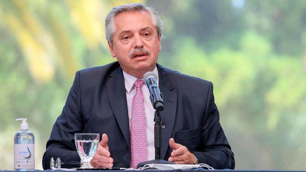 Alberto Fernández descartó la implementación de un toque de queda