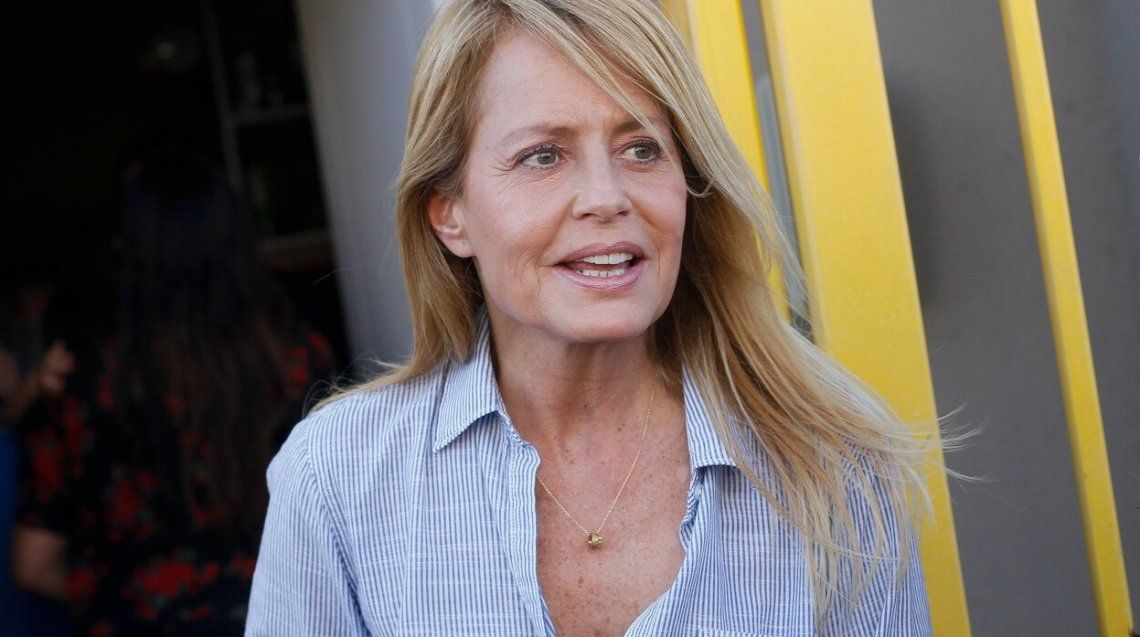 Cecilia Bolocco volvía de Miami junto a su hijo Máximo