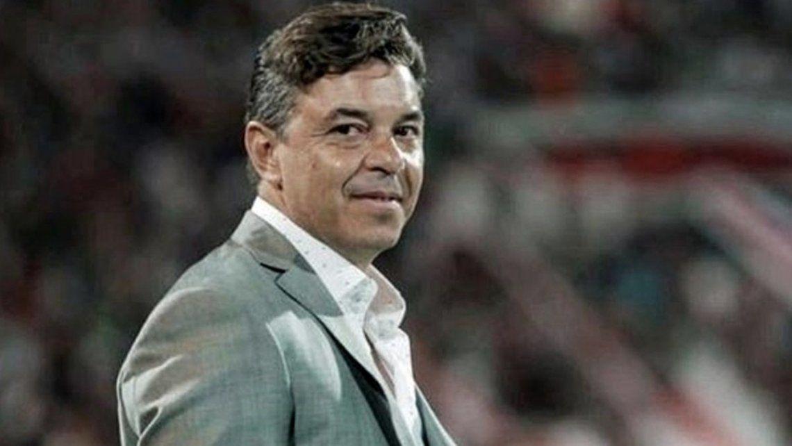 Marcelo Gallardo sufre por las bajas en el plantel