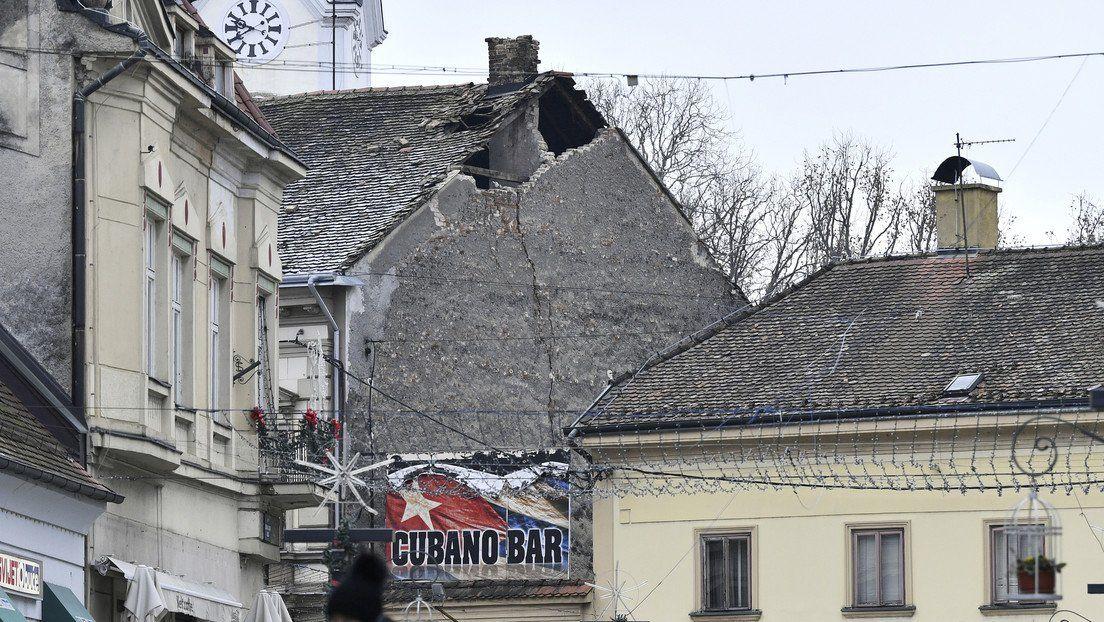 Así quedó Croacia tras el sismo de magnitud 6,4 registrado hoy