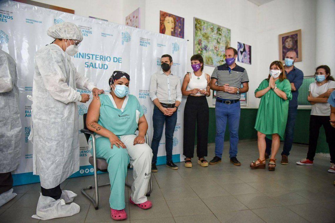 Comenzó la histórica vacunación contra el coronavirus en Quilmes