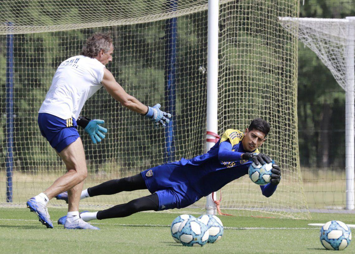 Esteban Andrada sería titular en el encuentro que Boca Juniors disputará ante River Plate el sábado venidero