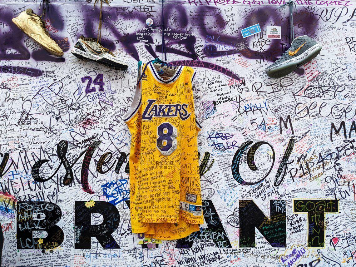 Memorial de Kobe Bryant en Los Angeles