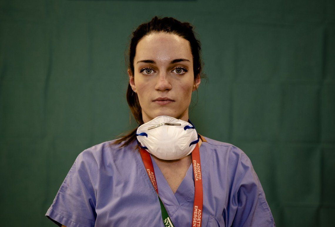 La enfermera Martina Papponetti