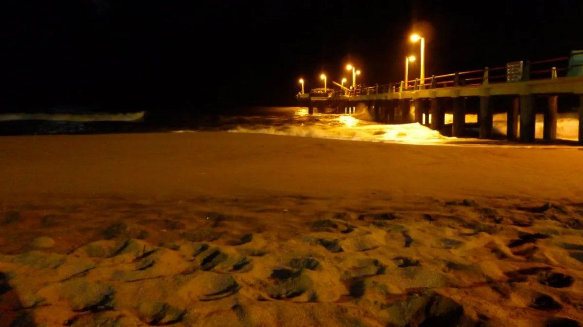 Villa Gesell: Prohiben el ingreso a las playas por la noche