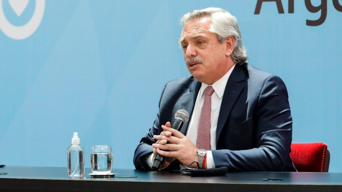 Alberto Fernández cuestionó a los productores.
