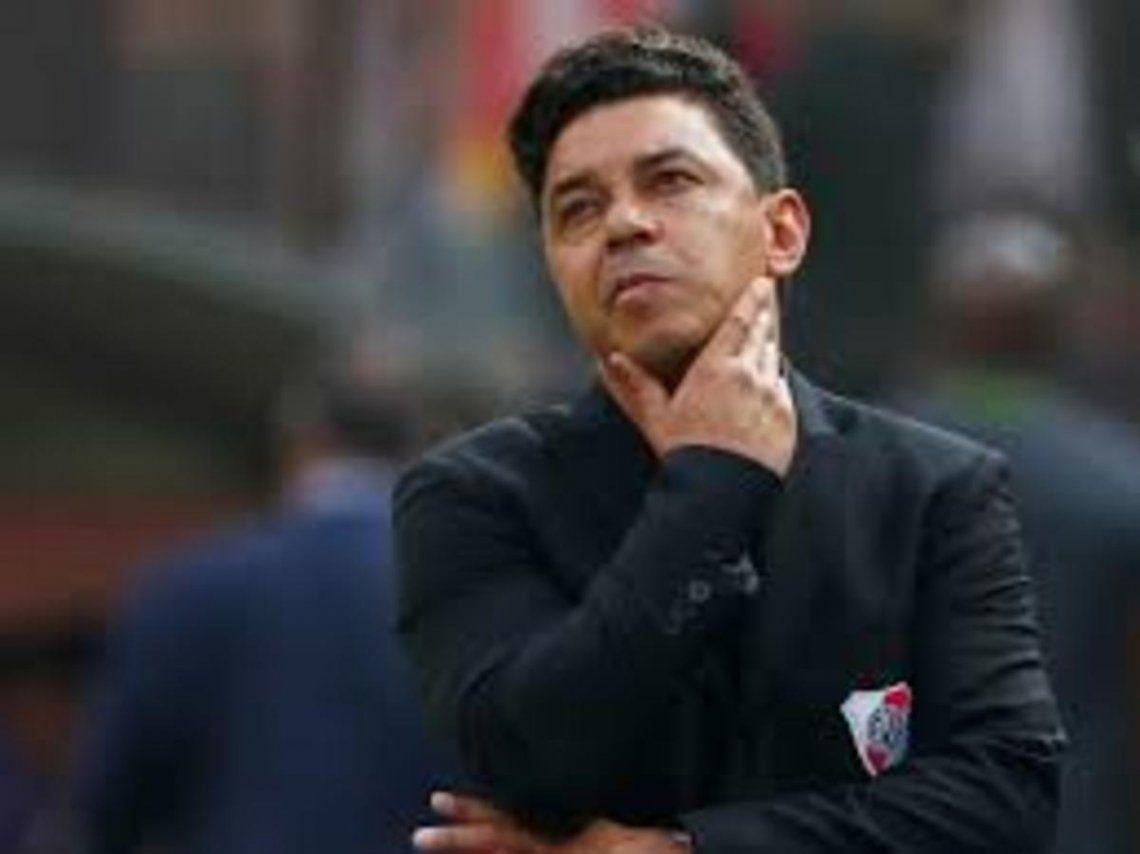 Marcelo Gallardo planea el 11 ante Boca y piensa en Palmeiras.