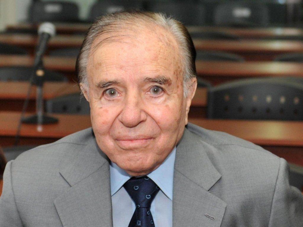 Carlos Menem continúa internado con pronóstico reservado