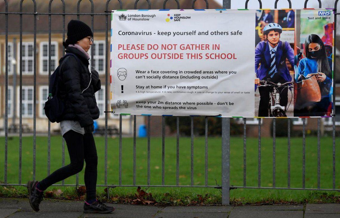 Londres cierra sus escuelas primarias por dos semanas