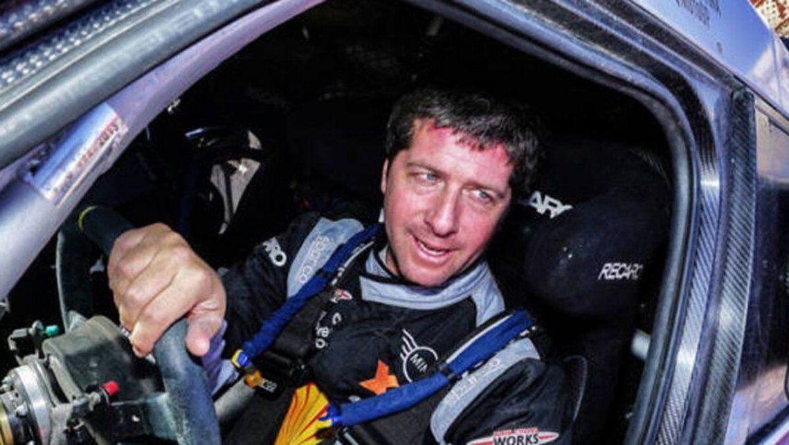 Orly Terranova arrancó sexto en la categoria autos del Dakar 2021