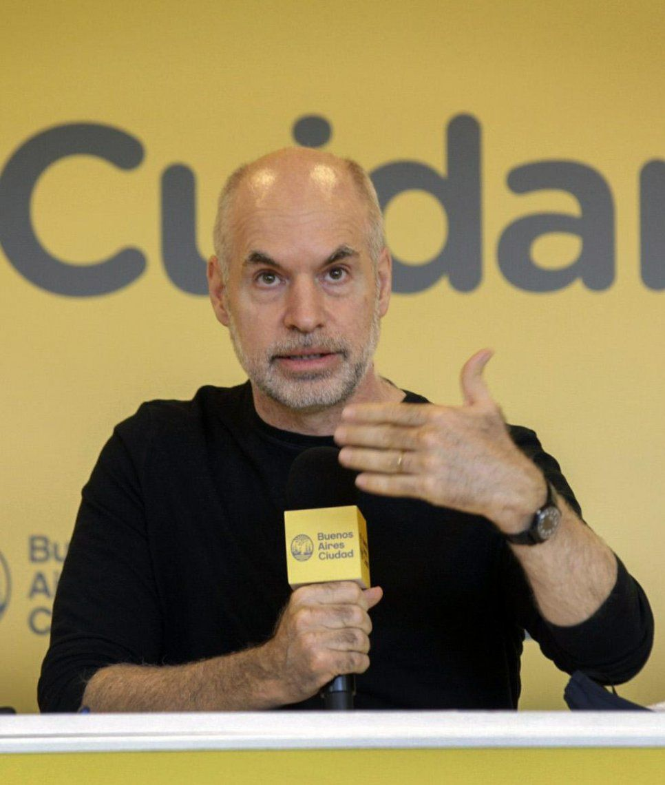 Horacio Rodríguez Larreta tiene coronavirus.