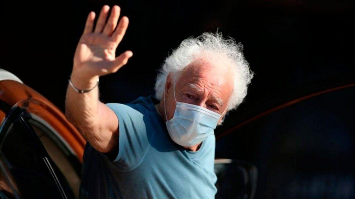 Guillermo Coppola se sumó a la extensa lista de famosos que dieron positivo de coronavirus