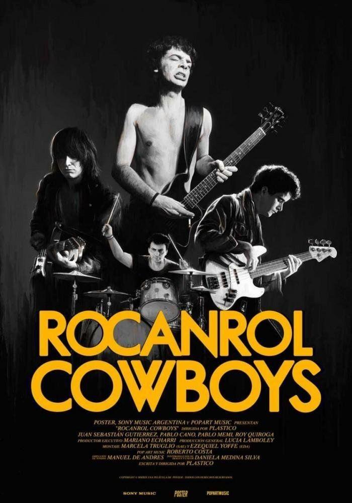 El poster de Rocanrol Cowboys a partir del 6 de enero en Netflix.