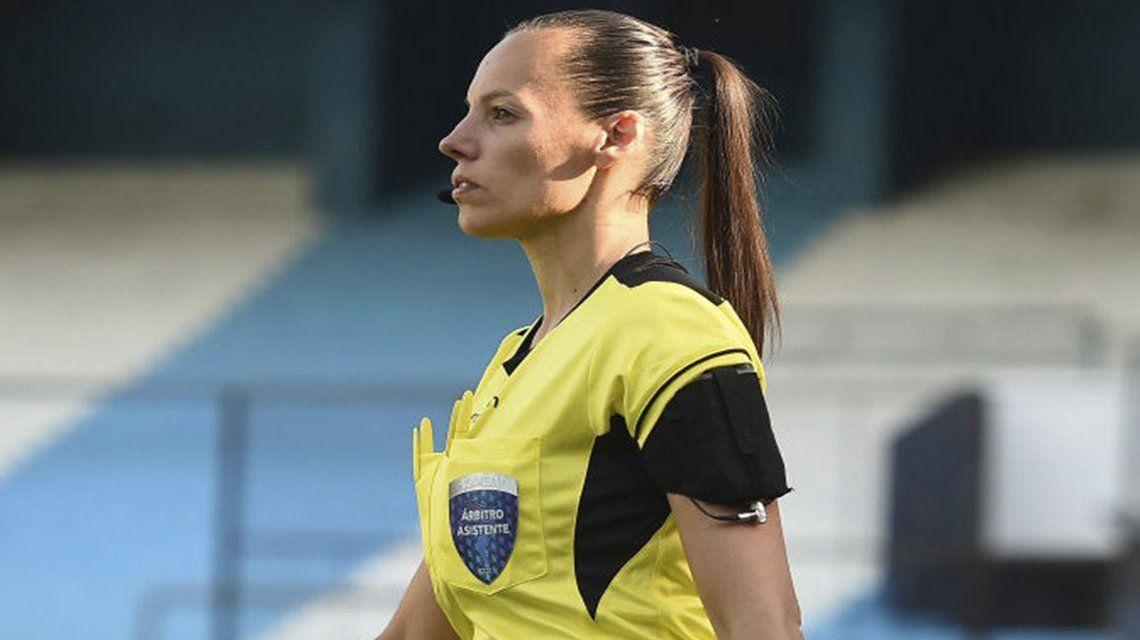 Mariana de Almeida: Una jueza argentina en el torneo.