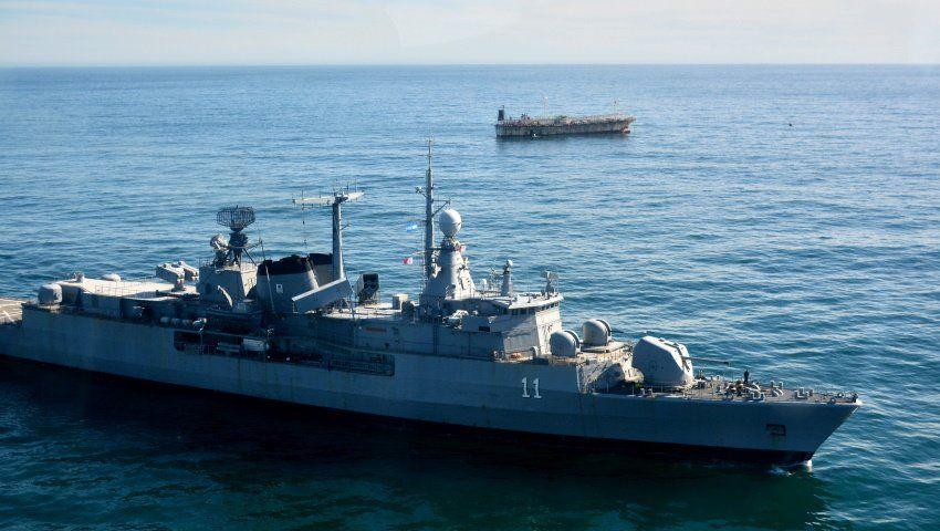 La Armada controla la soberanía argentina en el mar