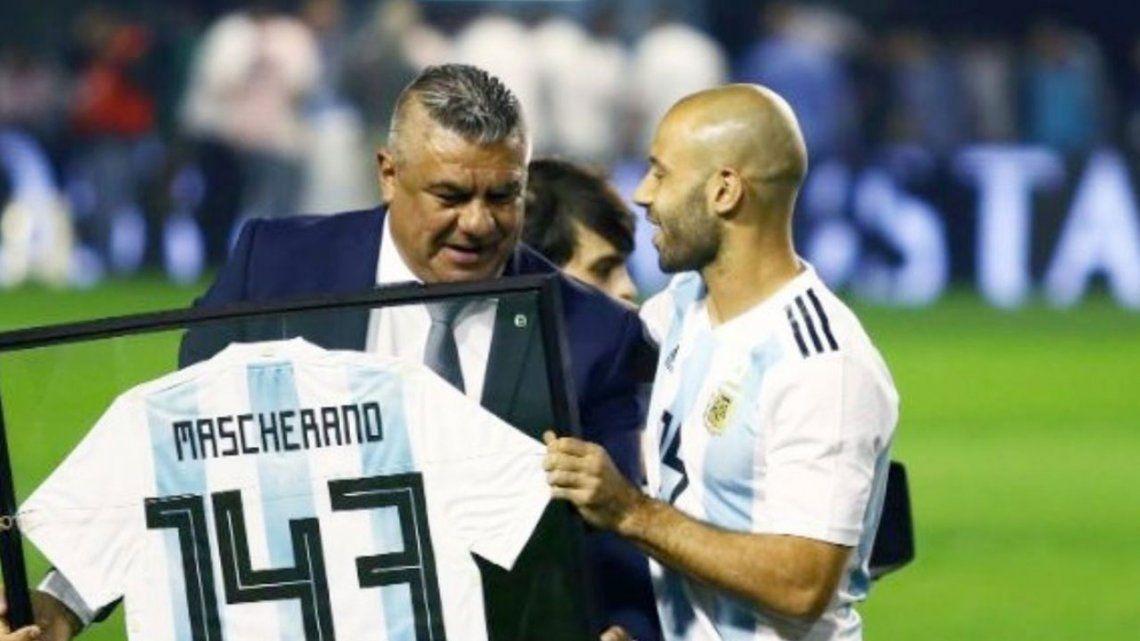 Javier Mascherano vuelve a la Selección Argentina.