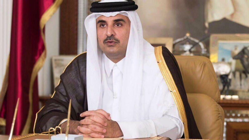 El Emir de Qatar