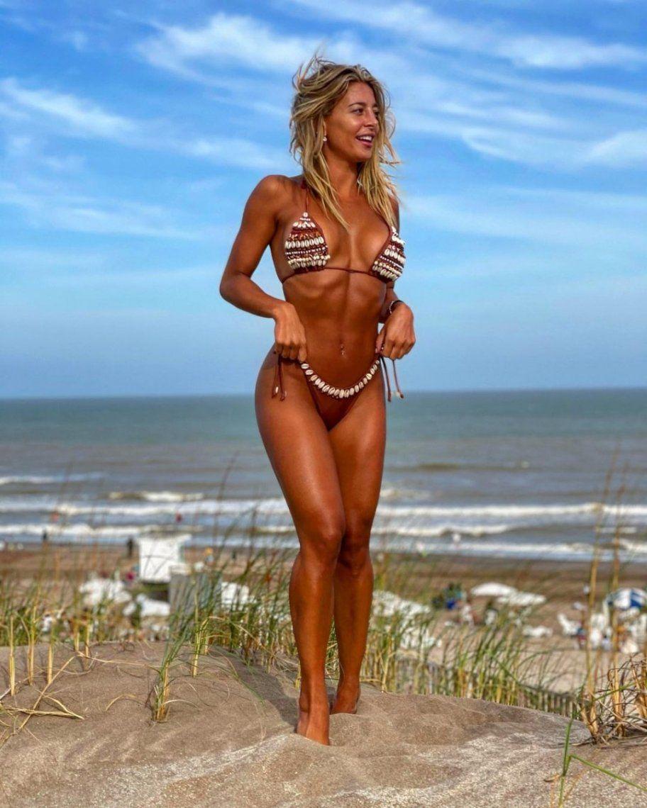 Sol Pérez, sexy en las playas de Mar del Plata