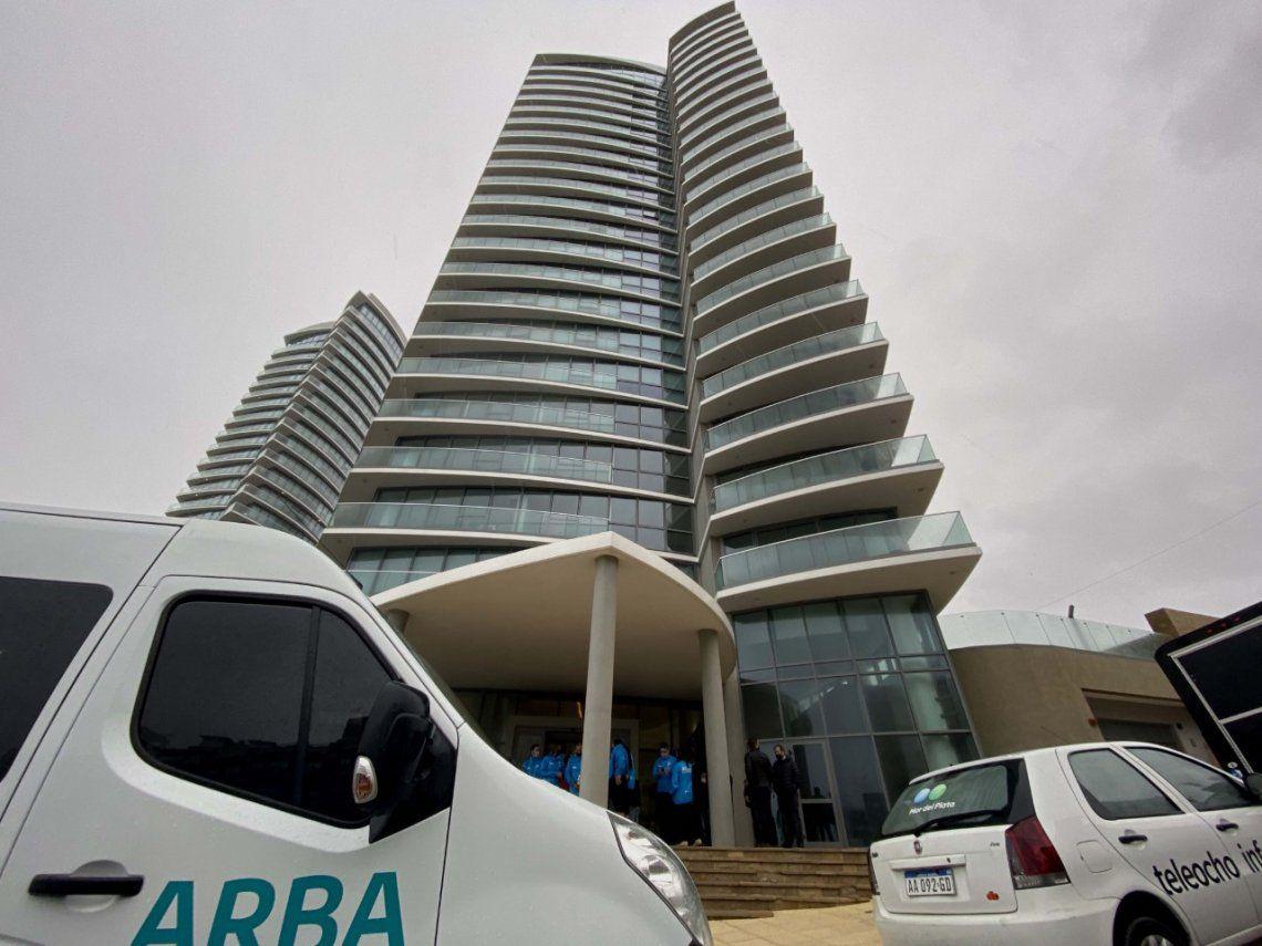 Mar del Plata: ARBA detectó torre residencial de lujo sin declarar