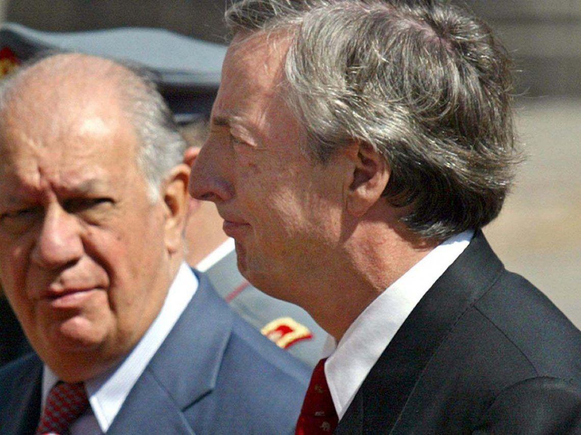 Ricardo Lagos y Néstor Kirchner tuvieron una mala relación durante sus mandatos