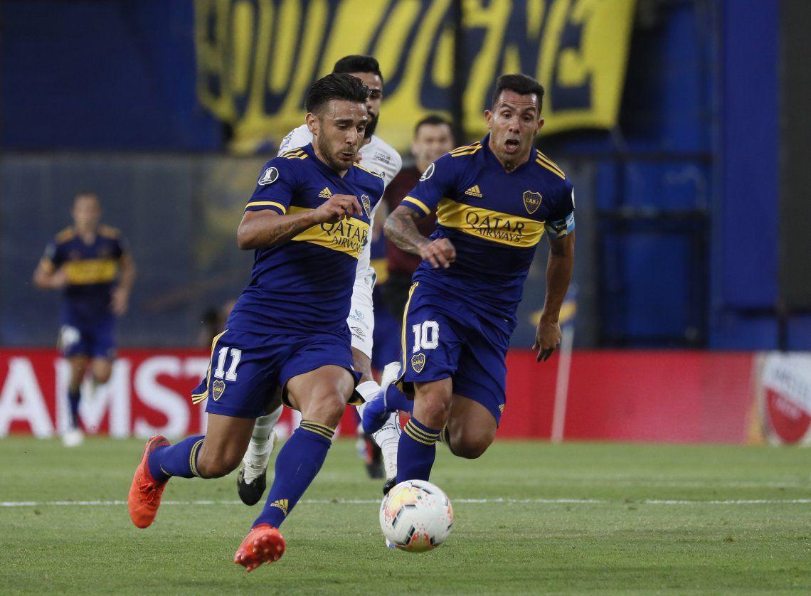 Ni Boca ni santos supieron como quebrar al rival y definirán el segundo finalista de la Copa en suelo paulista