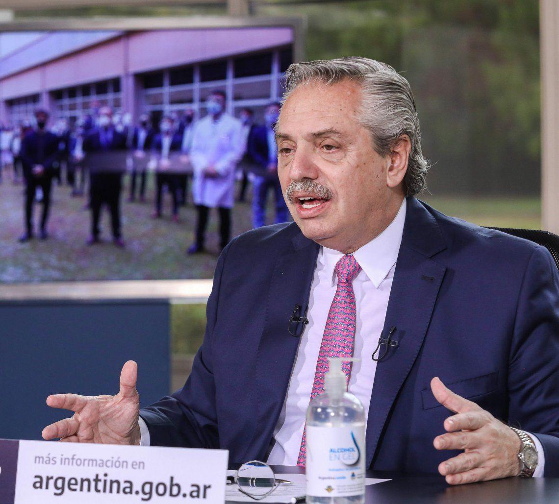 Alberto Fernández viaja a Chile.